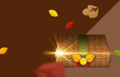 가을 낙엽 상자<BR>수집 이벤트