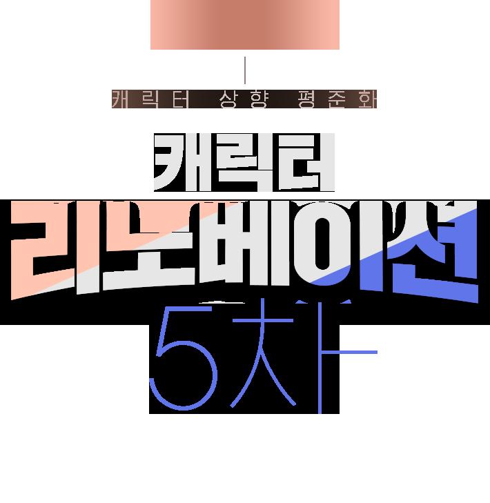 2020년 12월 17일(목) 뚜근뚜근 업데이트 캐릭터 상향 평준화 캐릭터 리노베이션 5차 보리스/막시민